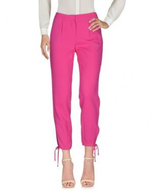 Повседневные брюки SIMONA CORSELLINI. Цвет: фуксия