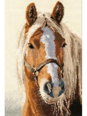Набор для вышивания Адель 20х29 см , Алиса. Цвет: бежевый, белый, коричневый, светло-бежевый, светло-коричневый
