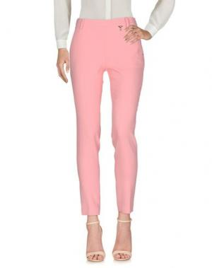 Повседневные брюки MARIA GRAZIA SEVERI. Цвет: розовый