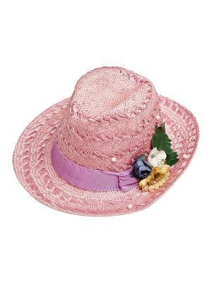 Шляпа Kameo-bis. Цвет: розовый, синий, зеленый