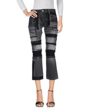 Джинсовые брюки JUNYA WATANABE COMME des GARÇONS. Цвет: черный