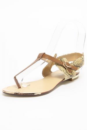 Туфли SPARKLING. Цвет: коричневый