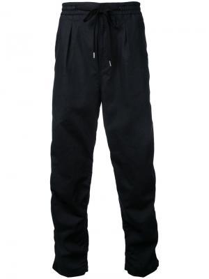 Широкие брюки monkey time. Цвет: чёрный