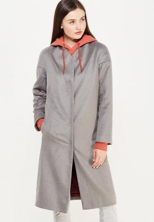 Пальто Luv. Цвет: серый