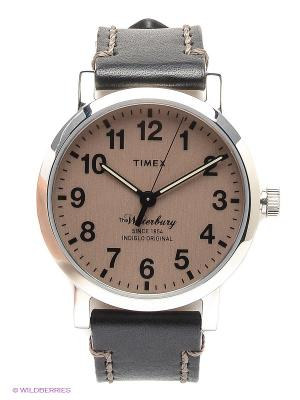 Часы TIMEX. Цвет: серебристый, черный