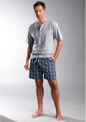 Пижама с шортами s.Oliver. Цвет: лиловый
