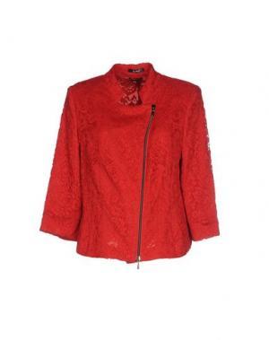Легкое пальто VERA MONT. Цвет: красный