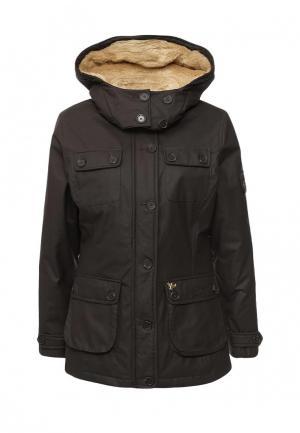Куртка утепленная John Partridge. Цвет: коричневый