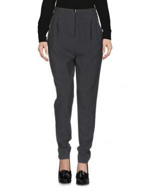 Повседневные брюки BERNA. Цвет: серый