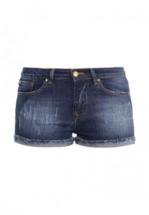Шорты джинсовые BeaYukMui. Цвет: синий