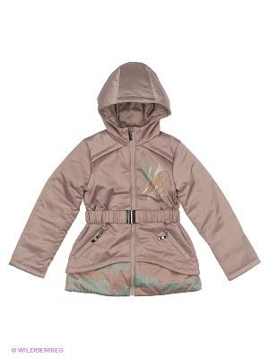 Куртка Кристина Аксарт. Цвет: бежевый