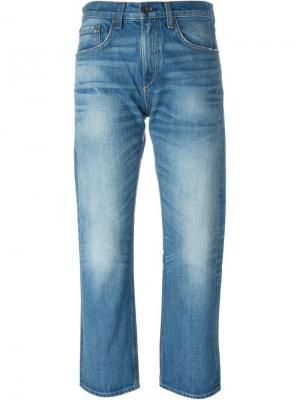 Укороченные джинсы Zeeburg Marilyn Rag & Bone /Jean. Цвет: синий