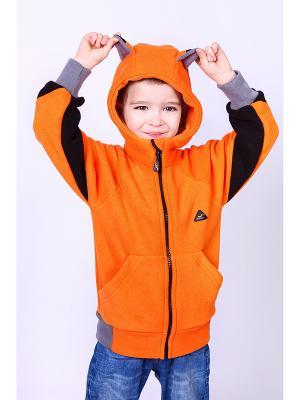 Толстовка ЛисФлис. Цвет: оранжевый