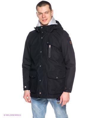 Пальто BUKOBA TEXAPORE COAT M Jack Wolfskin. Цвет: черный