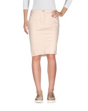 Джинсовая юбка AT.P.CO. Цвет: бежевый