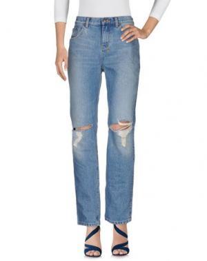 Джинсовые брюки KSUBI. Цвет: синий