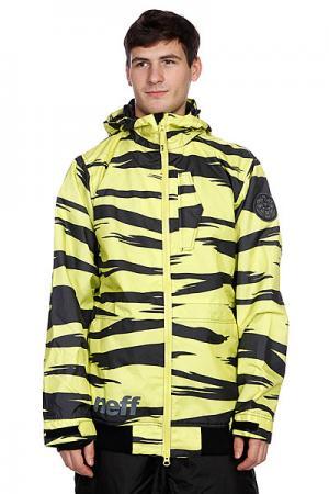 Куртка  Destroyer Yellow Zebra Neff. Цвет: желтый,черный
