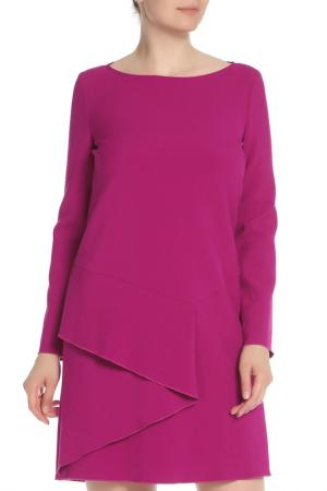 Платье с длинным рукавом Marella. Цвет: фуксия