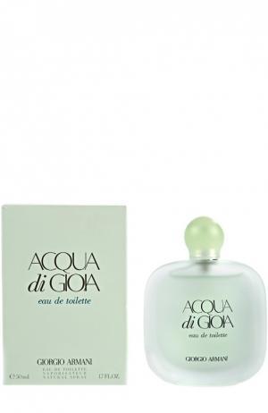 Туалетная вода Acqua di Gioia Giorgio Armani. Цвет: бесцветный