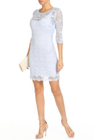 Платье HAPPYCHOICE. Цвет: голубой