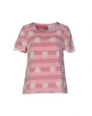 Блузка PRINCESSE METROPOLITAINE. Цвет: розовый