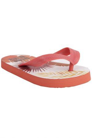 Тапочки-въетнамки Gulliver. Цвет: оранжевый