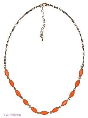 Ожерелье Parfois. Цвет: оранжевый