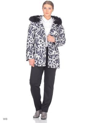 Пальто Fart Favorita. Цвет: белый, серый