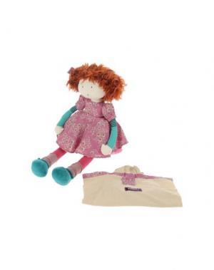 Куклы и мягкие игрушки MOULIN ROTY. Цвет: фуксия