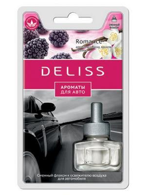 Автомобильный ароматизатор, сменный флакон Deliss. Цвет: бордовый