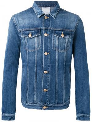 Джинсовая куртка Fourteen Won Hundred. Цвет: синий