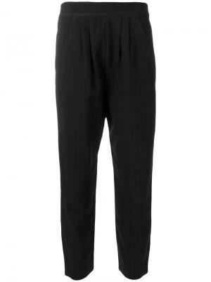 Укороченные брюки Masscob. Цвет: чёрный
