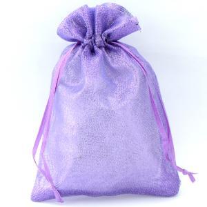 Подарочный мешочек УП-241 Бусики-Колечки. Цвет: фиолетовый