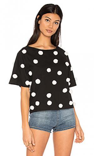 Pom shirt Pitusa. Цвет: черный