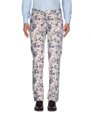 Повседневные брюки PANAMA. Цвет: слоновая кость