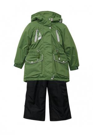 Куртка утепленная Oldos. Цвет: разноцветный
