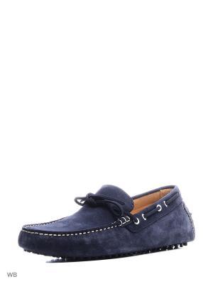 Мужские туфли - GOMET8 MANGO MAN. Цвет: темно-синий