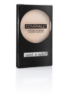 Компактная пудра для лица coverall pressed powder, Тон E822B Wet n Wild. Цвет: прозрачный