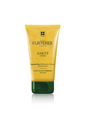 Karite Hydra Шампунь увлажняющий для сухих волос 150 мл Rene Furterer. Цвет: прозрачный