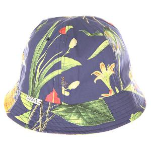 Панама  Acc Brewster Botanical Cap Navy Penfield. Цвет: синий,мультиколор
