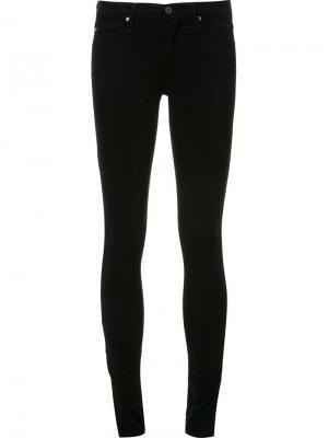 Джинсы кроя супер-скинни Ag Jeans. Цвет: чёрный