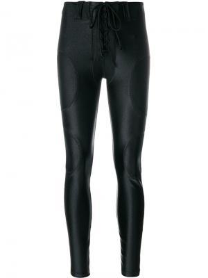 Футбольные брюки Yeezy. Цвет: чёрный