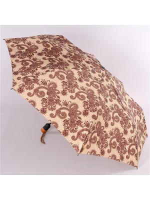 Зонт Airton. Цвет: бежевый, темно-коричневый, черный