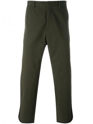 Укороченные брюки Ports 1961. Цвет: зелёный