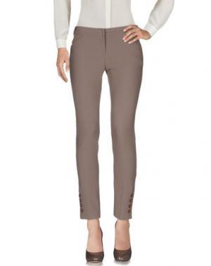 Повседневные брюки X'S MILANO. Цвет: хаки