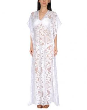 Пляжное платье SAHA. Цвет: белый