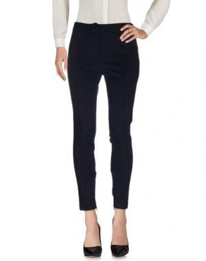 Повседневные брюки DE PIETRI. Цвет: темно-синий