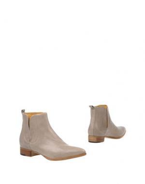 Полусапоги и высокие ботинки ALBERTO FERMANI. Цвет: хаки