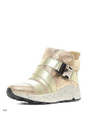 Ботинки Vitacci. Цвет: золотистый