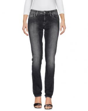 Джинсовые брюки SEVEN7. Цвет: стальной серый